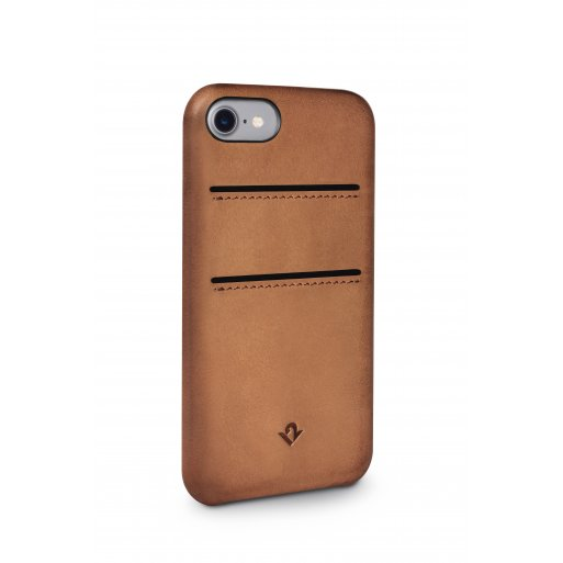 iPhone 7 Handyhülle Twelve South Relaxed Leather Case - Braun