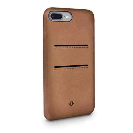 iPhone 7 Plus Handyhülle Twelve South Relaxed Leather Case - Braun