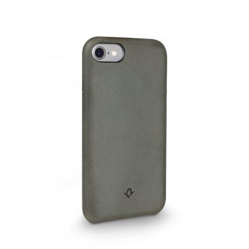 iPhone 7 Handyhülle Twelve South Relaxed Leather Case - Grün