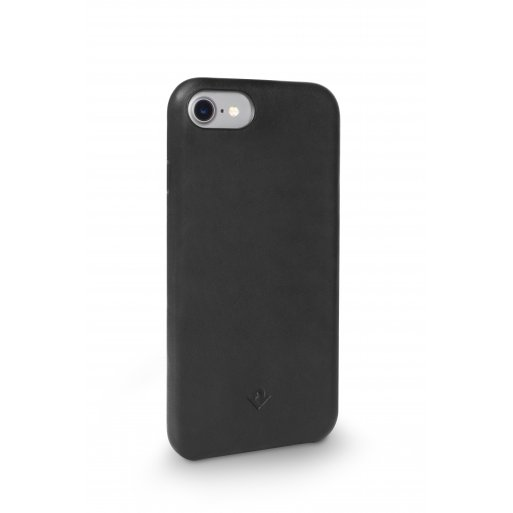 iPhone 7 Handyhülle Twelve South Relaxed Leather Case - Schwarz