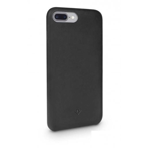 iPhone 8 Plus Handyhülle Twelve South Relaxed Leather Case - Schwarz