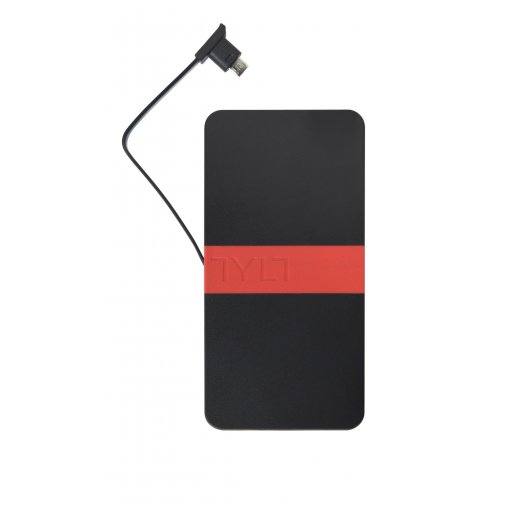 iPhone Powerbank Tylt ENERGI Powerbank 5K - Schwarz-Rot