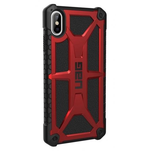 iPhone XS Max Handyhülle UAG Monarch Case - Crimson