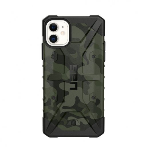 iPhone 11 Handyhülle UAG Pathfinder Case - Forest camo