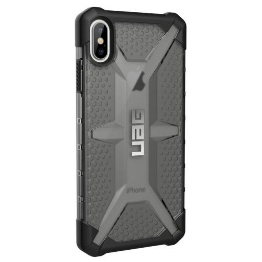 iPhone XS Max Handyhülle UAG Plasma Case - Ash (transparent)