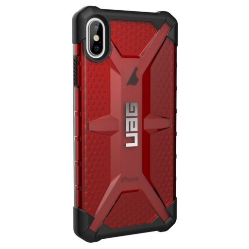 iPhone XS Max Handyhülle UAG Plasma Case - Magma (transparent)