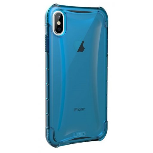 iPhone XS Max Handyhülle UAG Plyo Case - Glacier (transparent)