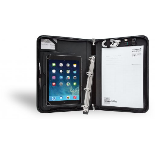 iPad Air Hülle WEDO Tablet-Organizer - Schwarz